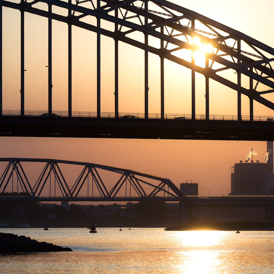 Waalstrand Nijmegen, nu nog even zomer
