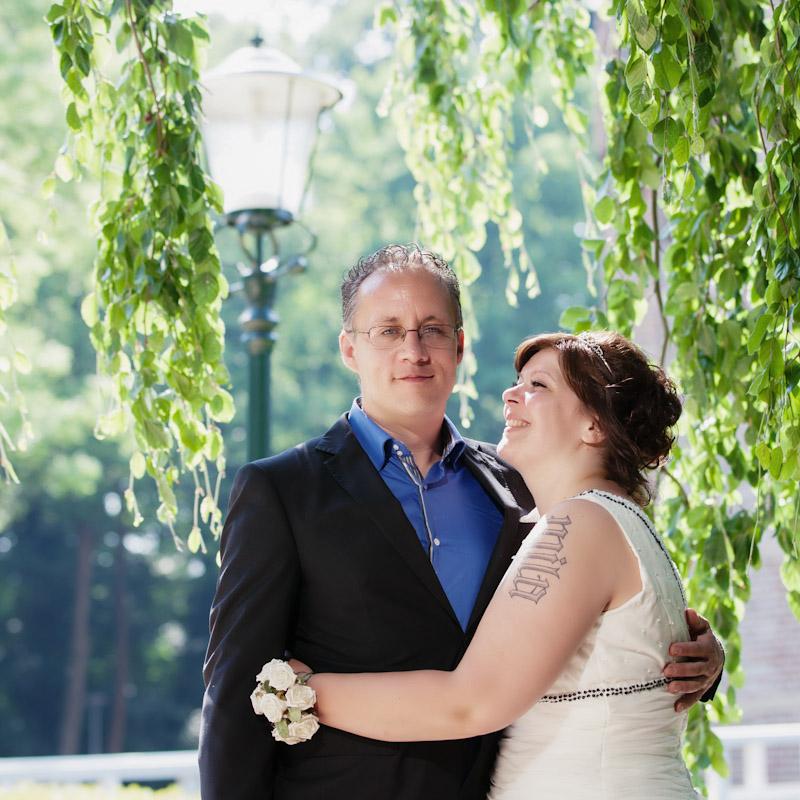 Fotograaf op een bruiloft